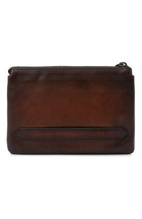 Мужская кожаный футляр для документов BERLUTI светло-коричневого цвета, арт. N140151 | Фото 1