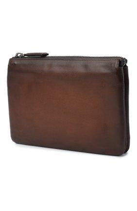 Мужская кожаный футляр для документов BERLUTI светло-коричневого цвета, арт. N140151 | Фото 2