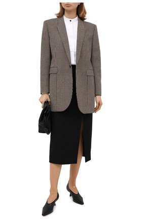 Женская шелковая блузка GIORGIO ARMANI белого цвета, арт. 0WHCCZ31/TZ121 | Фото 2