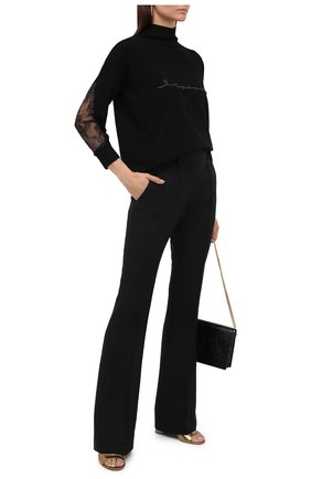 Женские кожаные мюли maudi GIANVITO ROSSI золотого цвета, арт. G18030.85RIC.METMEK0   Фото 2