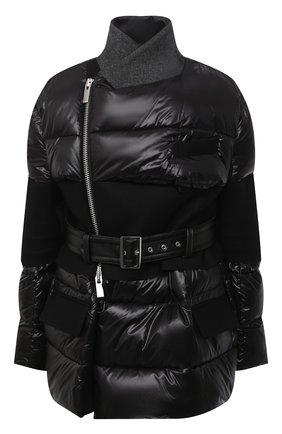 Женская куртка SACAI черного цвета, арт. 20-05353 | Фото 1