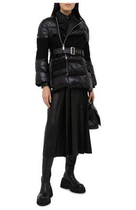 Женская куртка SACAI черного цвета, арт. 20-05353 | Фото 2