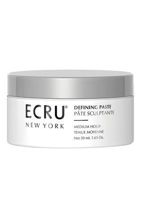 Женского текстурирующая паста для укладки волос ECRU NEW YORK бесцветного цвета, арт. 669259003660 | Фото 1