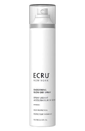 Женского разглаживающий спрей для укладки волос феном ECRU NEW YORK бесцветного цвета, арт. 669259003356 | Фото 1