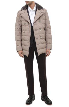 Мужская хлопковая сорочка SONRISA белого цвета, арт. IFJ7167/J133/47-51 | Фото 2 (Манжеты: На пуговицах; Воротник: Кент; Рукава: Длинные; Рубашки М: Regular Fit; Длина (для топов): Стандартные; Материал внешний: Хлопок; Стили: Классический; Случай: Формальный; Принт: Однотонные; Мужское Кросс-КТ: Сорочка-одежда)