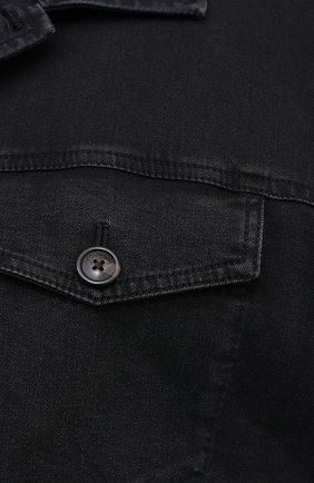 Мужская джинсовая куртка CORTIGIANI темно-серого цвета, арт. 918500/0070/6190/60-70 | Фото 5