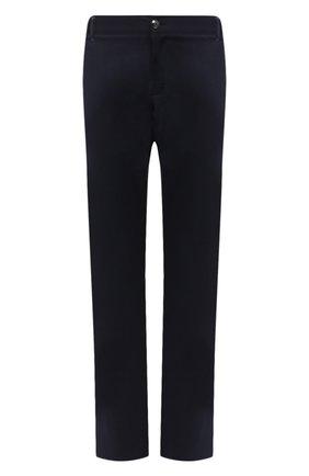 Мужские брюки из шерсти и кашемира ZILLI темно-синего цвета, арт. M0U-D0153-LACH1/R001 | Фото 1