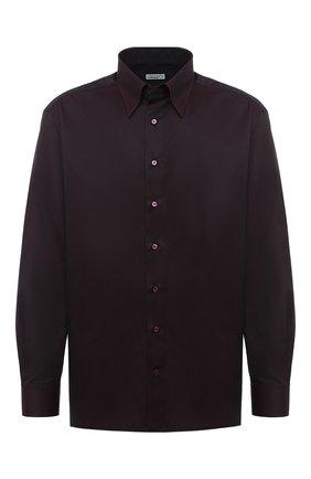 Мужская хлопковая сорочка ZILLI бордового цвета, арт. MFU-01403-01077/0001/45-49 | Фото 1