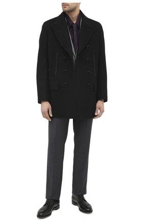 Мужская хлопковая сорочка ZILLI бордового цвета, арт. MFU-01403-01077/0001/45-49 | Фото 2