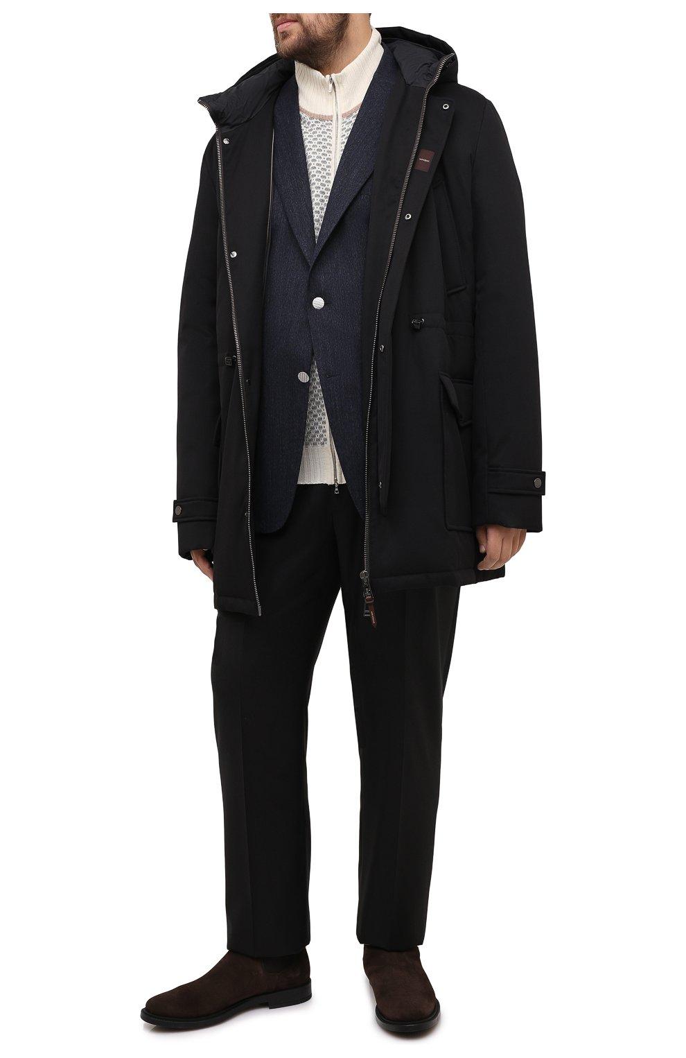 Мужская пуховик WINDSOR черного цвета, арт. 13 ARTIDE1-N-U 10005635/60-66 | Фото 2
