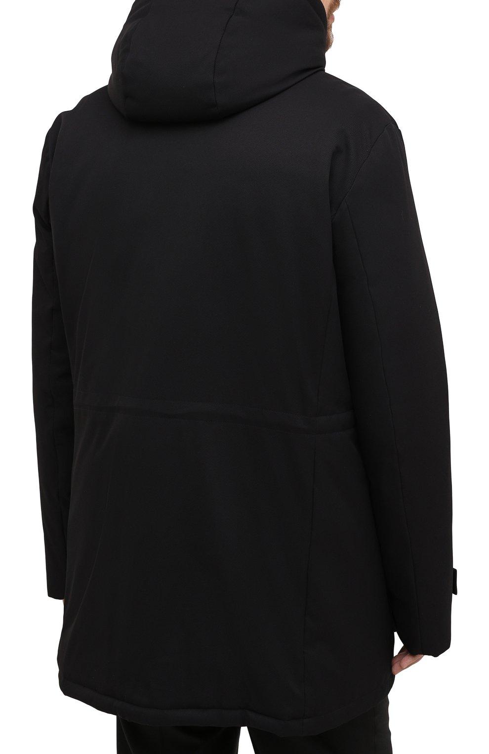 Мужская пуховик WINDSOR черного цвета, арт. 13 ARTIDE1-N-U 10005635/60-66 | Фото 4
