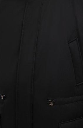Мужская пуховик WINDSOR черного цвета, арт. 13 ARTIDE1-N-U 10005635/60-66 | Фото 5