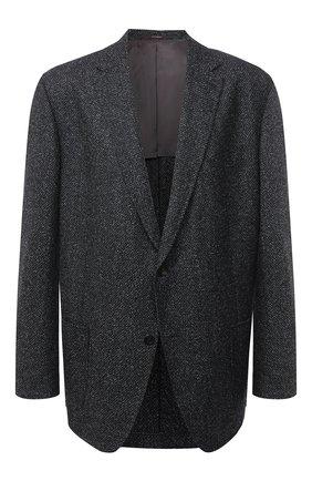 Мужской шерстяной пиджак WINDSOR темно-серого цвета, арт. 13 GAR0N-U 10006024/60-66 | Фото 1