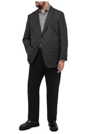 Мужской шерстяной пиджак WINDSOR темно-серого цвета, арт. 13 GAR0N-U 10006024/60-66 | Фото 2