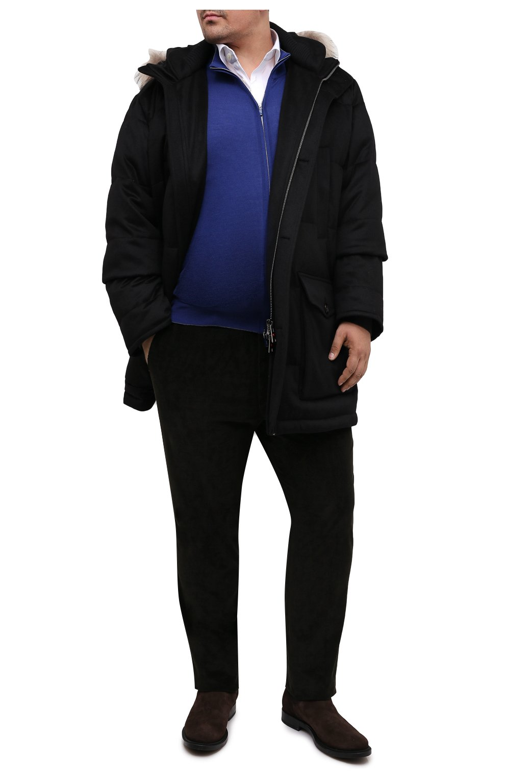 Мужская пуховик KIRED черного цвета, арт. WANIEW6818022000/62-72 | Фото 2