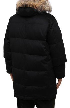 Мужская пуховик KIRED черного цвета, арт. WANIEW6818022000/62-72 | Фото 4