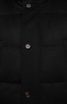 Мужская пуховик KIRED черного цвета, арт. WANIEW6818022000/62-72 | Фото 5