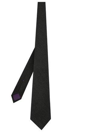 Мужской галстук из кашемира и шелка RALPH LAUREN темно-серого цвета, арт. 791820828 | Фото 2