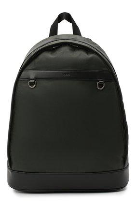 Мужской комбинированный рюкзак TOD'S хаки цвета, арт. XBMTRVG04000YW | Фото 1