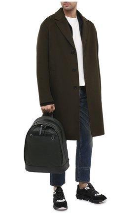 Мужской комбинированный рюкзак TOD'S хаки цвета, арт. XBMTRVG04000YW | Фото 2