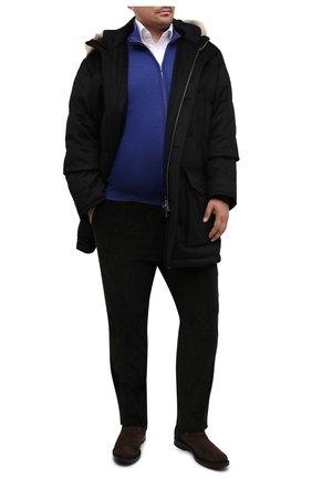 Мужской шерстяной кардиган SVEVO синего цвета, арт. 0918/9XSA20/MP09 | Фото 2