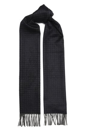 Мужской шарф из шелка и кашемира CANALI серого цвета, арт. 06/TX00176 | Фото 1