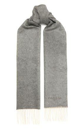 Мужской шарф из шелка и кашемира CANALI серого цвета, арт. 06/TX00179 | Фото 1