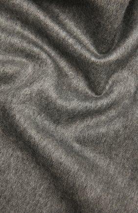 Мужской шарф из шелка и кашемира CANALI серого цвета, арт. 06/TX00179 | Фото 2