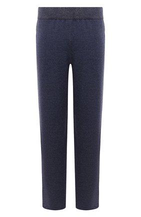 Мужской шерстяные брюки CANALI голубого цвета, арт. C0759B/MK00982 | Фото 1