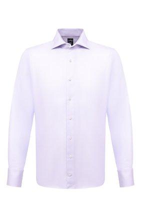 Мужская хлопковая сорочка VAN LAACK сиреневого цвета, арт. MIVARA-SF/156222 | Фото 1