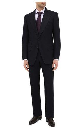 Мужская хлопковая сорочка VAN LAACK сиреневого цвета, арт. MIVARA-SF/156222 | Фото 2