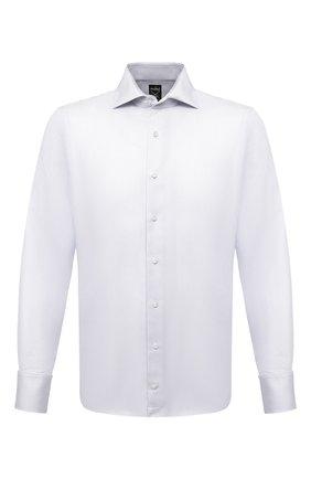 Мужская хлопковая сорочка VAN LAACK серого цвета, арт. MIVARA-SF/156222 | Фото 1