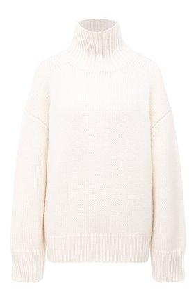 Женский кашемировый свитер FTC белого цвета, арт. 800-0160 | Фото 1