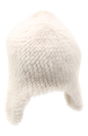 Женская шапка из меха норки KUSSENKOVV светло-бежевого цвета, арт. 91250012433 | Фото 2