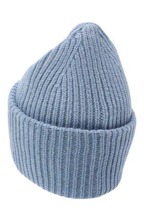 Женский шерстяная шапка ACNE STUDIOS голубого цвета, арт. D40009/W | Фото 2