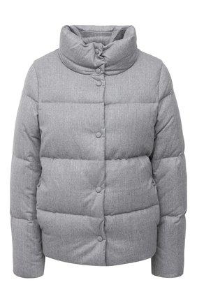 Женский пуховая куртка ADD серого цвета, арт. 2AWA60 | Фото 1
