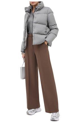 Женский пуховая куртка ADD серого цвета, арт. 2AWA60 | Фото 2