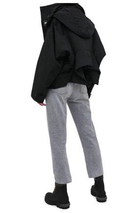 Женские кожаные ботинки VETEMENTS черного цвета, арт. UAH21B0240 2453/W | Фото 2