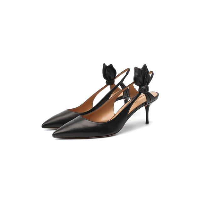Кожаные туфли Drew 60 Aquazzura