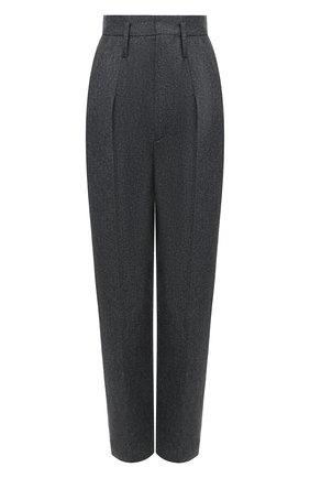 Женские шерстяные брюки ISABEL MARANT темно-серого цвета, арт. PA1823-20H026I/RAC0MISL | Фото 1