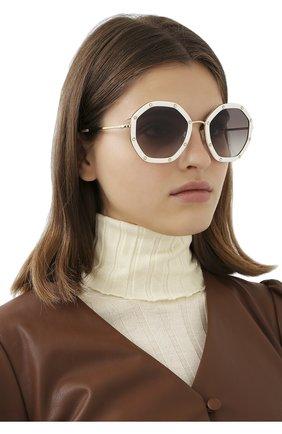 Солнцезащитные очки Valentino Garavani   Фото №2