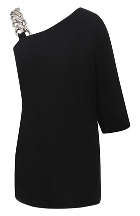 Женская хлопковая футболка N21 черного цвета, арт. 20I N2S0/F071/4157 | Фото 1