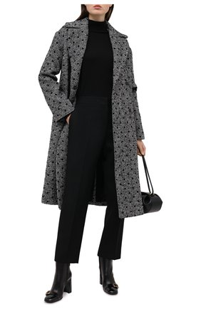Женское пальто ERMANNO ERMANNO SCERVINO серого цвета, арт. 47T CP14 REF | Фото 2