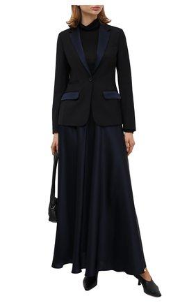 Женская юбка LORENA ANTONIAZZI темно-синего цвета, арт. SI2006G0022/333   Фото 2