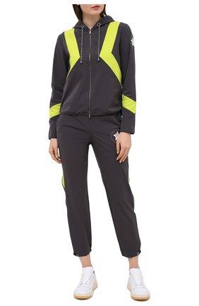 Женские брюки LORENA ANTONIAZZI темно-серого цвета, арт. I2020PA087/2566 | Фото 2