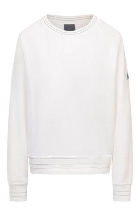 Женская хлопковый свитшот LORENA ANTONIAZZI белого цвета, арт. I2018FZ012/3187 | Фото 1