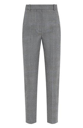 Женские шерстяные брюки ALEXANDER MCQUEEN серого цвета, арт. 631986/QJABH   Фото 1