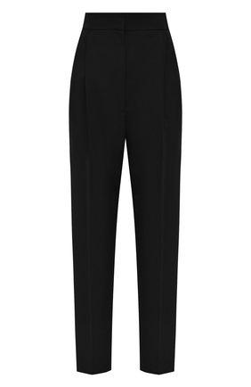 Женские шерстяные брюки ALEXANDER MCQUEEN черного цвета, арт. 629060/QJAAC   Фото 1