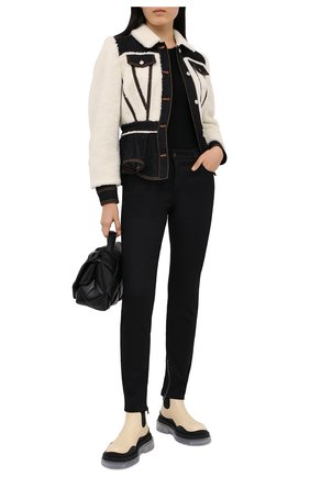 Женская куртка ALEXANDER MCQUEEN белого цвета, арт. 628313/QEACD | Фото 2