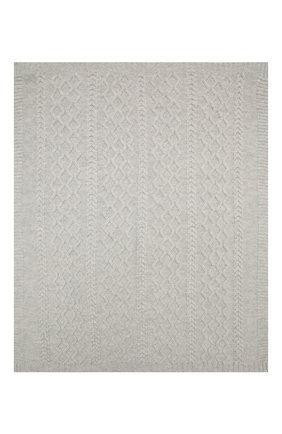 Детского шерстяное одеяло BABY T серого цвета, арт. 20AI162C0 | Фото 2
